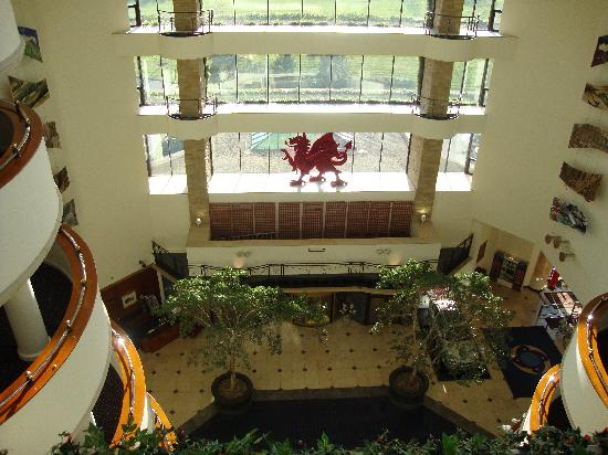 Celtic Manor Resort: Lobby view