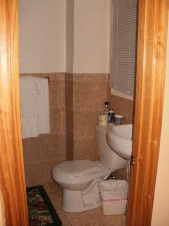 Jones Beach Hotel: Bathroom - only area that's new