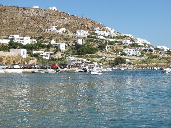 Ornos, Grécia: Mar fantástico!