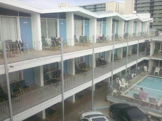 SeaGull Motel: Rooms on the 3rd floor