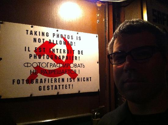 SafeHouse: Signage Inside Bar