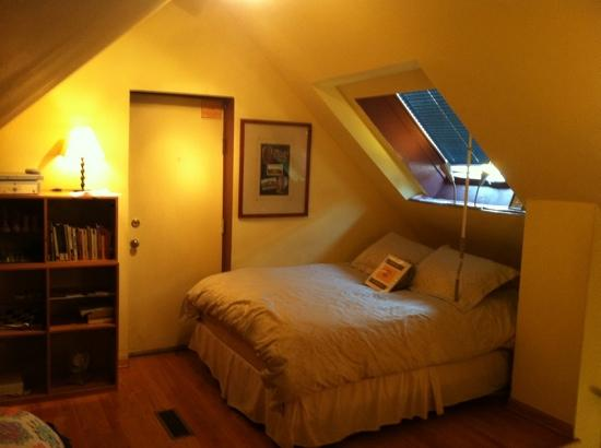 Ray's Bucktown Bed and Breakfast: skylight room