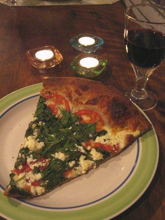 Atlantic Pizza Company: Tomato and Spinach Pizza