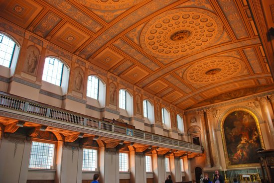 Old Royal Naval College: Beautiful colours