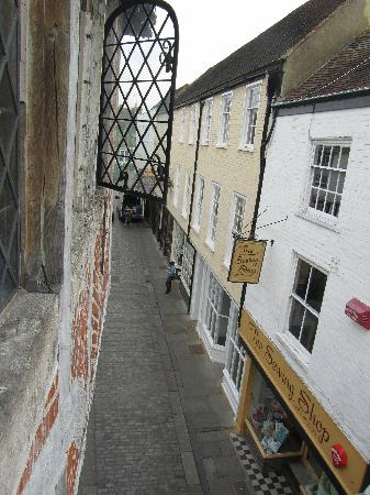 Sun Hotel and Tea Rooms: View from our window