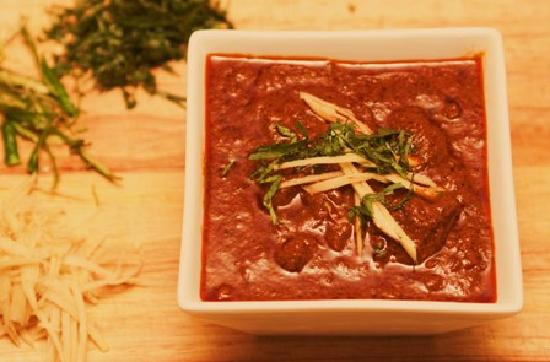 The Curry Box: Lamb Roganjosh $14.50