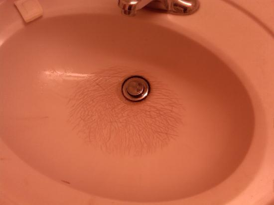 Super 8 South Bend: The sink condition set the tone for the hotel in general
