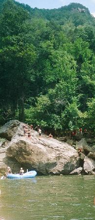 North American River Runners - Day Tours : Jumping Rock