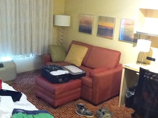 Courtyard by Marriott Scranton Wilkes-Barre: the room. kitty approved.