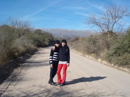 Eri Y Flor ,vacaciones de invierno 2010 Nono Còrdoba Argentina
