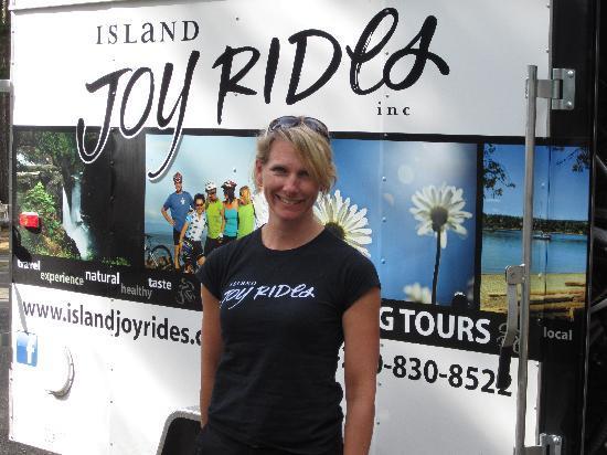 Island Joy Rides: Laurel, our fearless leader