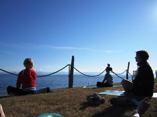 Island Joy Rides: Early morning yoga