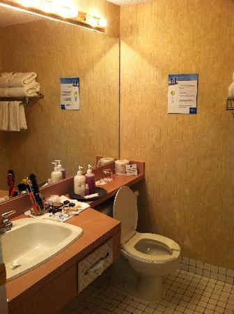 Coast Edmonton Plaza Hotel: Bathroom