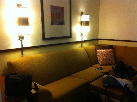 Hyatt Place Detroit / Utica: Sitting Room
