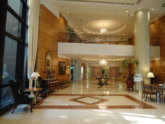 Park Tower: lobby majestuoso!