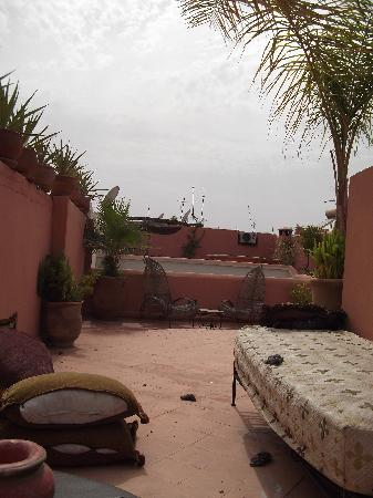 Riad Cannelle: A glimpse of the terrace