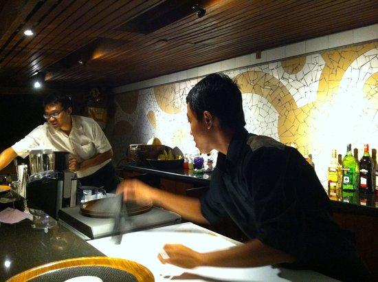 Il Giardino: The bar