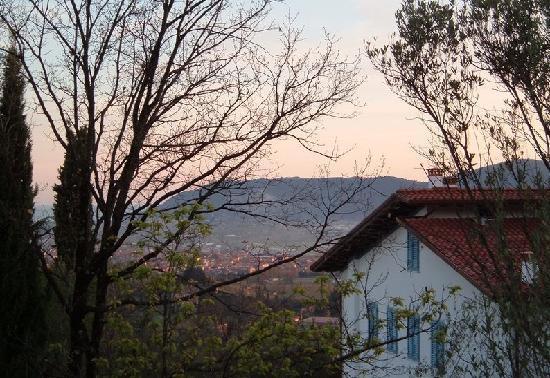Ca' Bianca B&B : Il tramonto alla Ca' Bianca