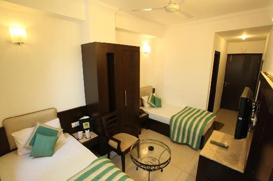 Hotel Chanchal Continental: standard twin
