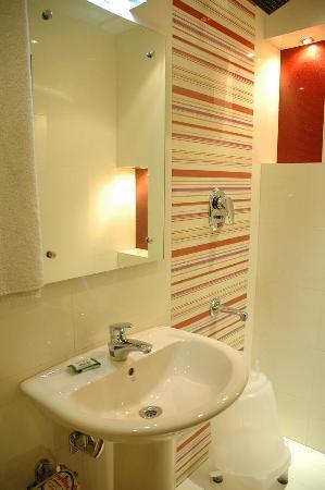 Hotel Chanchal Continental: bathroom