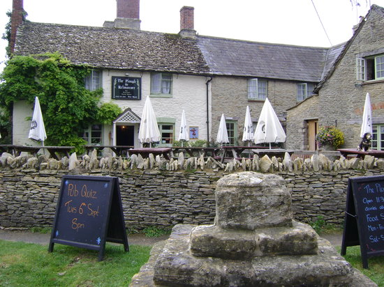 Lechlade, UK: outside the Plough