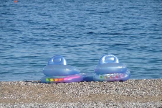 Rodos Palladium: Hotel beach