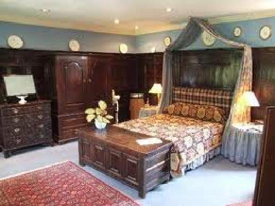 Στάμφορντ, UK: Bedroom in The George Stamford