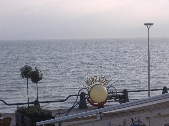 Hotel Restaurant Solskin: dal balcone