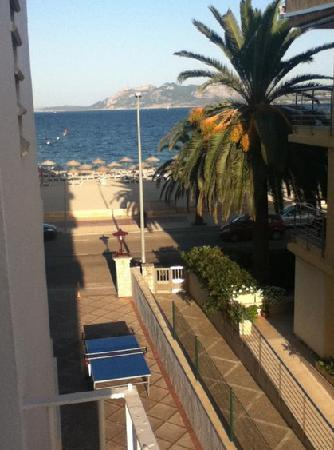 Hoposa Pollentia Hotel: View from balcony far left