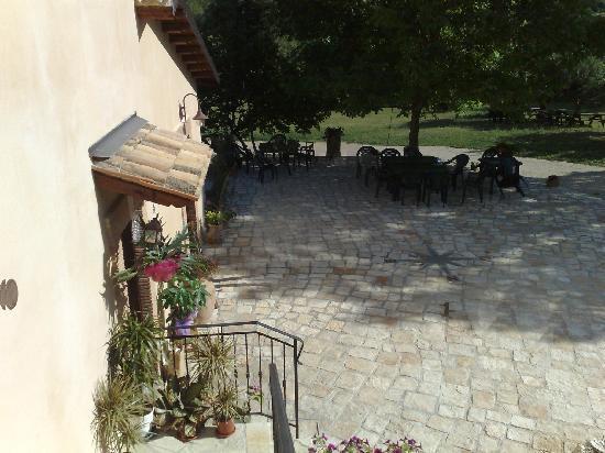 Trevi nel Lazio, Italie : patio casale