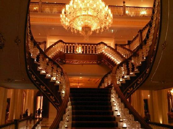 Mardan Palace: Magnificent staircase
