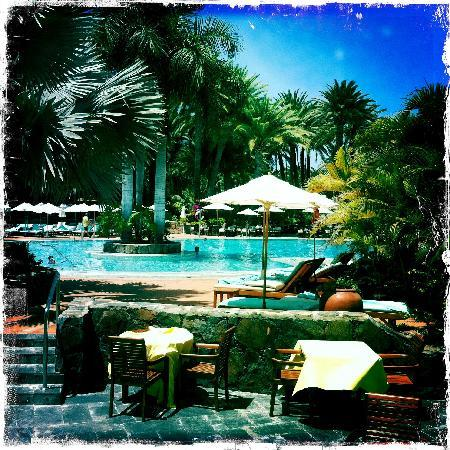 Seaside Palm Beach: The main Pool