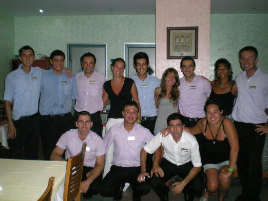 Faustina Hotel: hotel staff