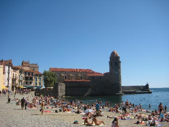Villa Miranda : Le fameux clocher de Collioure