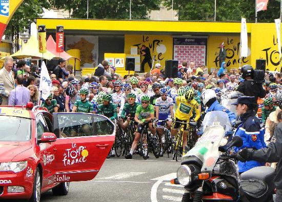 Tour de France, Limoux 2011