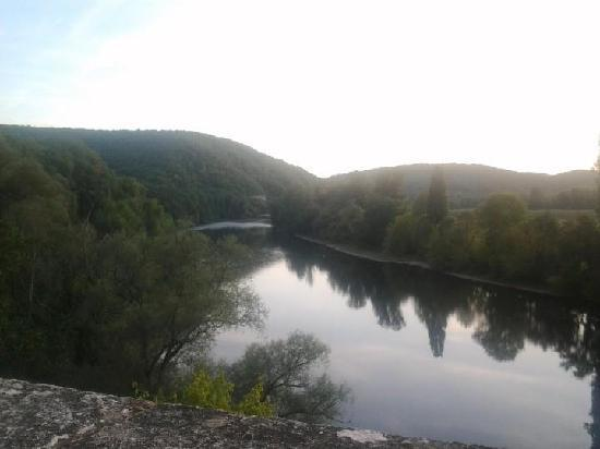 Chateau de la Treyne: View of the Dordogne river