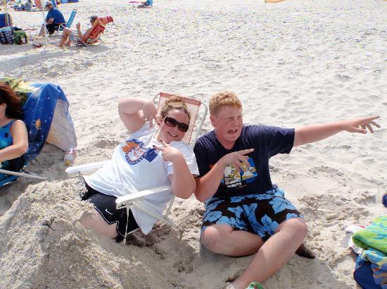 Sea Spray Motel: the beach