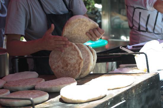 Funchal, Portugal: Monte,pane tipico