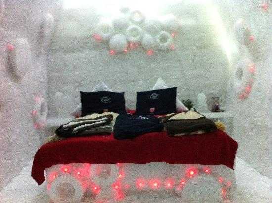 Ice Hotel Romania: One of the beautiful hotel rooms