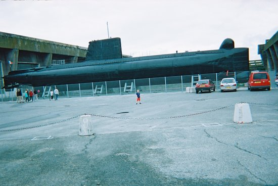 Lorient, France : Submarine at La Flore