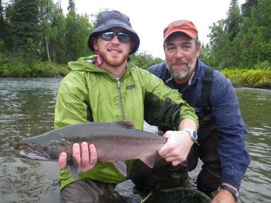 Alaska Fishing Lodge - Wilderness Place Lodge: Another Catch