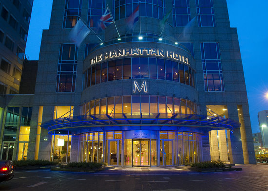 Rotterdam Marriott Hotel: Welcome to The Manhattan Hotel Rotterdam