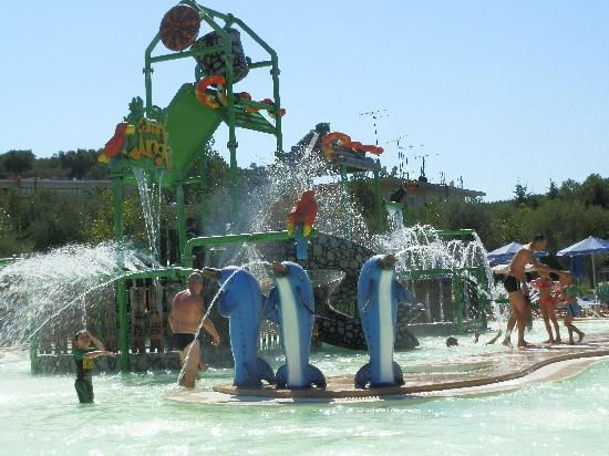 Tsilivi Waterpark: kids area
