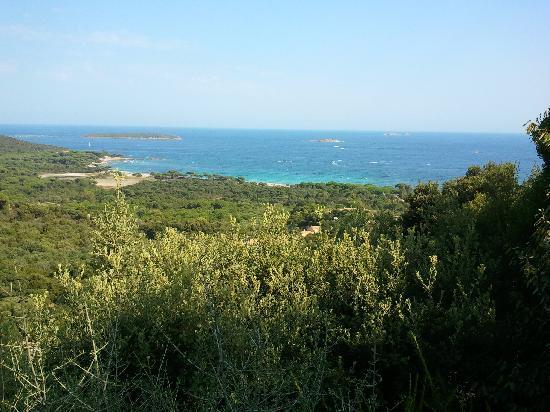 Residence Belvedere de Palombaggia : vue villa