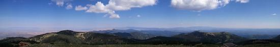 Panorama from top of Ski Apache, summer