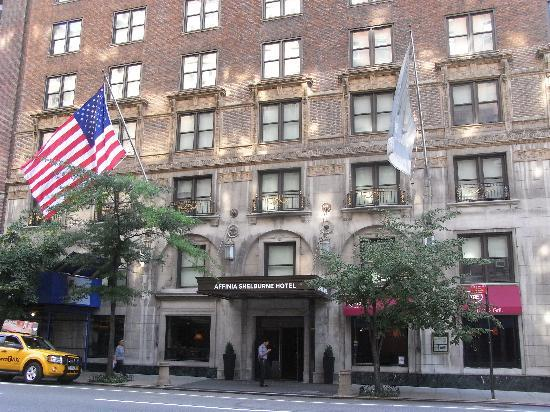 frontage to lexington avenue ornate stonework picture of