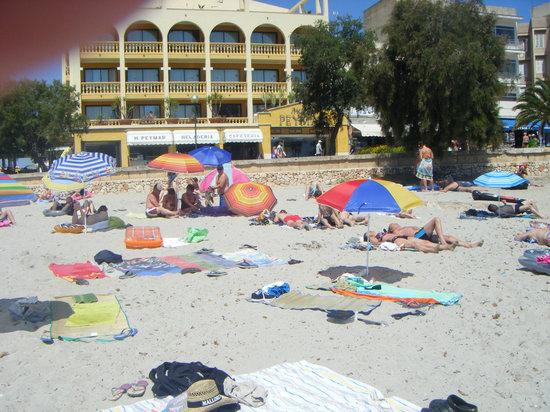 Hotel Peymar: HOTEL FROM BEACH