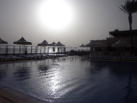 Club Oasis Marine : Dernier jour, 8 heures du matin, nous avons bien profité de nos derniers moments dans la piscine