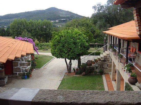 Quinta da Cancela: Vue depuis la terrasse