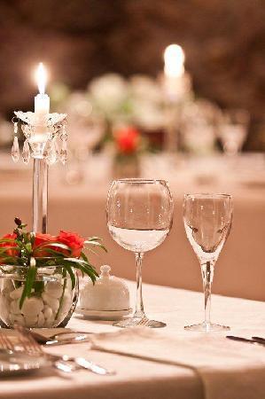 Idwala Boutique Hotel Johannesburg: Restaurant Table